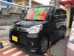 沖縄の中古車 スズキ スペーシア 車両価格 93万円 リ済込 平成27年 3.5万K Dブラウン