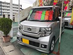 沖縄の中古車 ホンダ N BOXカスタム 車両価格 86万円 リ済込 平成24年 9.2万K シルバー