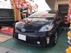 沖縄の中古車 トヨタ プリウス 車両価格 126万円 リ済込 平成25年 2.3万K パープル