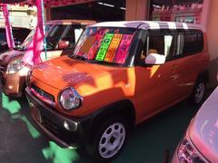 沖縄の中古車 スズキ ハスラー 車両価格 89万円 リ済込 平成26年 4.2万K オレンジII