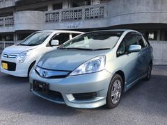 沖縄の中古車 ホンダ フィットシャトルハイブリッド 車両価格 83万円 リ済込 平成24年 1.5万K シルバー