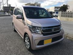 沖縄の中古車 ホンダ N−WGN 車両価格 82万円 リ済込 平成26年 1.4万K ピンク