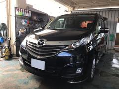 沖縄の中古車 マツダ ビアンテ 車両価格 132万円 リ済込 平成26年 8.0万K ブラック