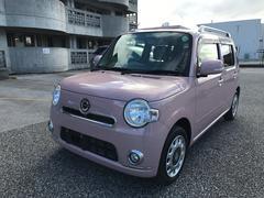 沖縄の中古車 ダイハツ ミラココア 車両価格 76万円 リ済込 平成25年 4.0万K ピンク