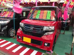 沖縄の中古車 ホンダ N BOXカスタム 車両価格 126万円 リ済込 平成27年 2.6万K レッドII
