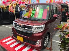 沖縄の中古車 ダイハツ タント 車両価格 116万円 リ済込 平成25年 4.3万K ワイン