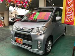 沖縄の中古車 スバル ルクラカスタム 車両価格 79万円 リ済込 平成24年 2.5万K シルバー