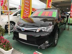 沖縄の中古車 トヨタ カローラフィールダー 車両価格 186万円 リ済込 平成26年 3.5万K ブラック