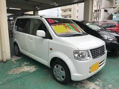 沖縄の中古車 三菱 eKワゴン 車両価格 39万円 リ済込 平成23年 6.1万K ホワイト