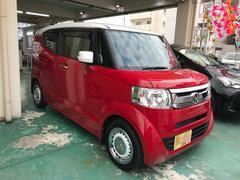 沖縄の中古車 ホンダ N−BOXスラッシュ 車両価格 129万円 リ済込 平成27年 1.5万K レッドII