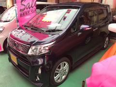 沖縄の中古車 スバル ステラ 車両価格 76万円 リ済込 平成26年 8.0万K ダークブルー