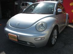 うるま市 うるま自動車 フォルクスワーゲン VW ニュービートル  シルバー 5.6万K 2001年