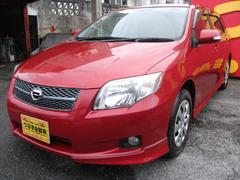 沖縄の中古車 トヨタ カローラフィールダー 車両価格 53万円 リ済込 平成20年 6.1万K レッドM
