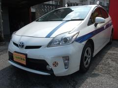 沖縄の中古車 トヨタ プリウス 車両価格 85万円 リ済込 平成24年 17.0万K パールホワイト