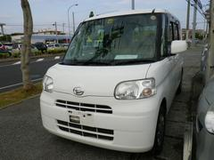 沖縄の中古車 ダイハツ タント 車両価格 34万円 リ済込 平成20年 22.1万K ホワイト
