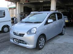 沖縄の中古車 ダイハツ ミライース 車両価格 38万円 リ済込 平成23年 14.2万K ブライトシルバーメタリック