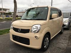沖縄の中古車 日産 モコ 車両価格 38万円 リ済込 平成24年 14.4万K ミルクティーベージュM