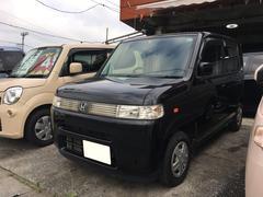 沖縄の中古車 ホンダ ザッツ 車両価格 24万円 リ済込 平成19年 11.4万K ナイトホークブラックパール