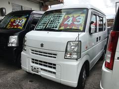 沖縄の中古車 スズキ エブリイ 車両価格 42万円 リ済込 平成18年 15.9万K スペリアホワイト