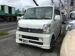 沖縄の中古車 スズキ エブリイワゴン 車両価格 54万円 リ済込 平成18年 14.7万K パールホワイト