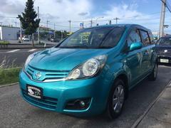 沖縄の中古車 日産 ノート 車両価格 48万円 リ済込 平成20年 8.7万K グリーンM