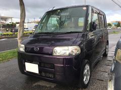沖縄の中古車 ダイハツ タント 車両価格 18万円 リ済込 平成16年 14.6万K ワイン