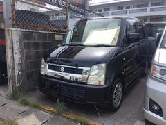 沖縄の中古車 スズキ ワゴンR 車両価格 24万円 リ済込 平成16年 5.2万K ブルーイッシュブラックパール3