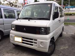 沖縄の中古車 三菱 ミニキャブバン 車両価格 18万円 リ済込 平成15年 17.8万K ホワイト
