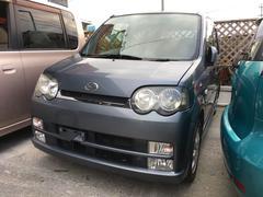 沖縄の中古車 ダイハツ ムーヴ 車両価格 28万円 リ済込 平成16年 9.0万K スチールグレーメタリック