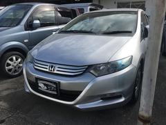 沖縄の中古車 ホンダ インサイト 車両価格 55万円 リ済込 平成21年 7.7万K アラバスターシルバーメタリック