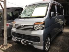沖縄の中古車 ダイハツ アトレーワゴン 車両価格 48万円 リ済込 平成20年 15.7万K ブライトシルバーメタリック