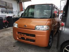沖縄の中古車 ダイハツ タント 車両価格 28万円 リ済込 平成18年 10.0万K アプリコットキャンディメタリック