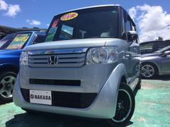 沖縄の中古車 ホンダ N BOX 車両価格 96万円 リ済別 平成25年 7.4万K ライトブルー