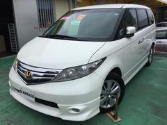沖縄の中古車 ホンダ エリシオン 車両価格 98万円 リ済別 平成21年 9.6万K パールホワイト