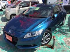 沖縄の中古車 ホンダ CR−Z 車両価格 95万円 リ済別 平成22年 8.2万K ホライゾンターコイズパール