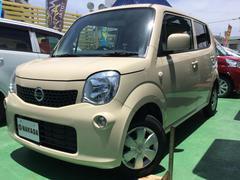 沖縄の中古車 日産 モコ 車両価格 74万円 リ済別 平成25年 6.9万K ミルクティーベージュM