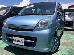 沖縄の中古車 スバル ステラ 車両価格 49万円 リ済別 平成22年 7.1万K ライトブルーM