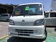沖縄の中古車 ダイハツ ハイゼットトラック 車両価格 43万円 リ済別 平成24年 9.8万K ホワイト