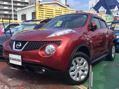 沖縄の中古車 日産 ジューク 車両価格 104万円 リ済別 平成24年 7.4万K ラディアントレッドPM