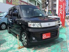 沖縄の中古車 スズキ ワゴンR 車両価格 53万円 リ済別 平成20年 8.1万K スパークブラックパール