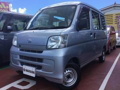 沖縄の中古車 ダイハツ ハイゼットカーゴ 車両価格 56万円 リ済別 平成23年 9.0万K シルバーM