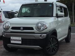 沖縄の中古車 スズキ ハスラー 車両価格 106万円 リ済別 平成26年 4.3万K パールホワイト