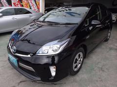 沖縄の中古車 トヨタ プリウスPHV 車両価格 130万円 リ済込 平成24年 6.3万K ブラック
