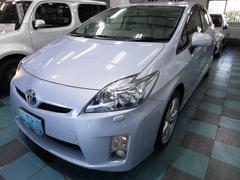 沖縄の中古車 トヨタ プリウス 車両価格 98万円 リ済込 平成22年 6.1万K アイスバーグ
