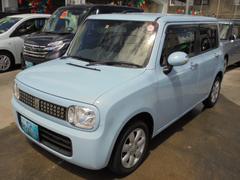 沖縄の中古車 スズキ アルトラパン 車両価格 83万円 リ済込 平成24年 1.0万K ライトブルー