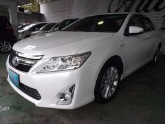 沖縄の中古車 トヨタ カムリ 車両価格 130万円 リ済込 平成24年 8.5万K パール