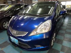沖縄の中古車 ホンダ フィット 車両価格 58万円 リ済込 平成21年 2.6万K ダークブルーM