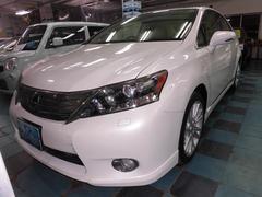 沖縄の中古車 レクサス HS 車両価格 140万円 リ済込 平成22年 7.9万K パールホワイト