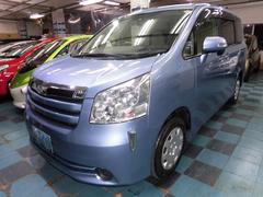 沖縄の中古車 トヨタ ノア 車両価格 68万円 リ済込 平成20年 8.0万K ライトブルー