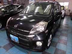 沖縄の中古車 ダイハツ ブーン 車両価格 23万円 リ済込 平成18年 8.0万K ブラックM